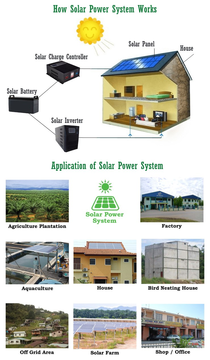 3000W Solar Power Inverter 48V Hybrid Inverter Home Solar